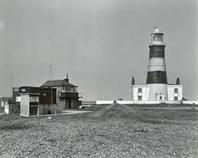 Orfordness Lighthouse circa 1950